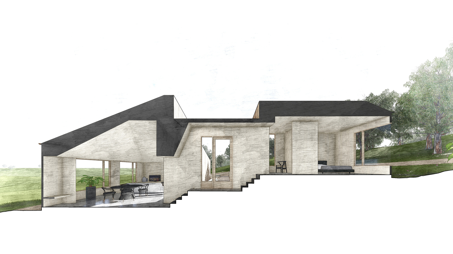 Two Halves House