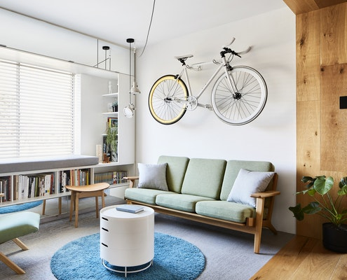 Type Street Apartment by Tsai Design (via Lunchbox Architect)