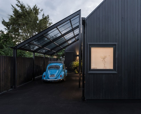 Urban Cottage by CoLab Architecture (via Lunchbox Architect)