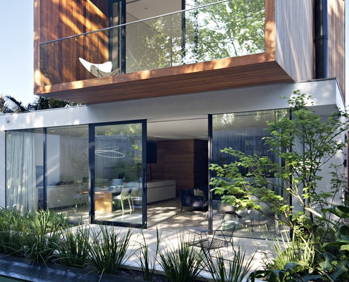 Victoria Gardens House by Lucy Clemenger Architects (via Lunchbox Architect)