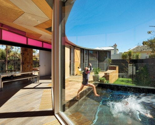 Victoria Road House by Fiona Winzar Architects (via Lunchbox Architect)