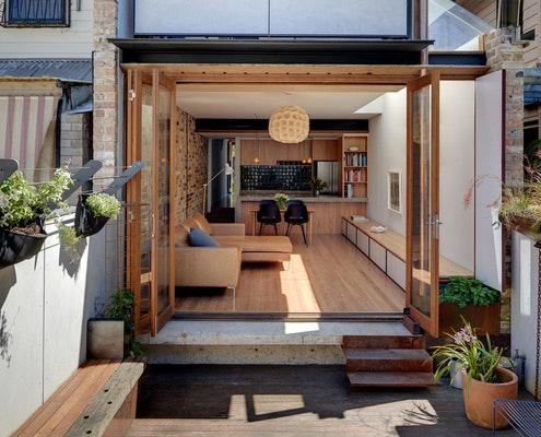 Waterloo Terrace by David Mitchell Architects (via Lunchbox Architect)