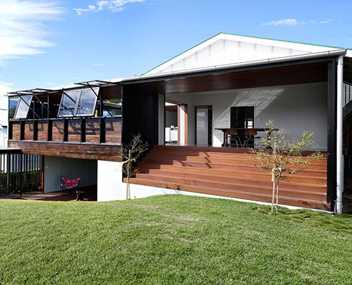 White Avenue House by James Russell Architects (via Lunchbox Architect)