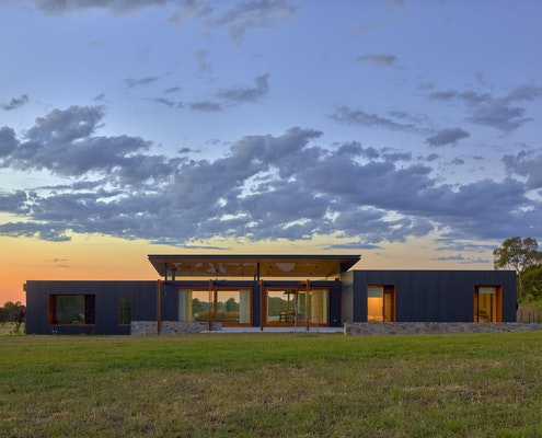 Wistow House by Mountford Williamson Architecture (via Lunchbox Architect)
