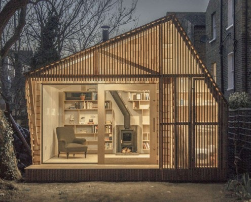 Writer's Shed by Weston Surman & Deane Architecture (via Lunchbox Architect)
