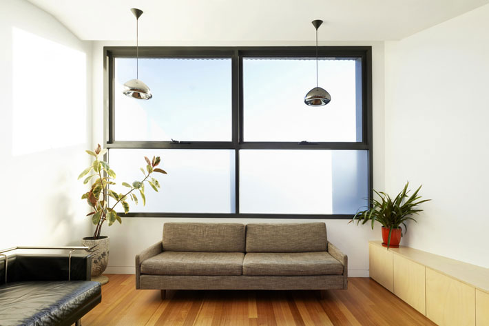 Yarra Street House separate upstairs lounge for quieter entertaining