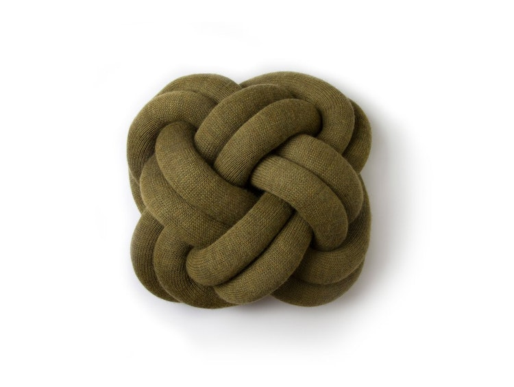 Knot Pillow Green (via Lunchbox Architect)